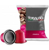 100 CAPSULE CAFFÈ TORALDO MISCELA CLASSICA COMPATIBILI NESPRESSO