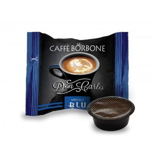 100 CAPSULE CAFFE BORBONE DON CARLO LAVAZZA A MODO MIO MISCELA BLU