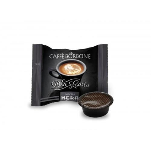 100 CAPSULE CAFFE BORBONE DON CARLO LAVAZZA A MODO MIO MISCELA NERA