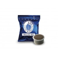 100 CAPSULE CAFFE' BORBONE FAP LAVAZZA ESPRESSO POINT MISCELA BLU (0,200/Pz)