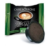 100 CAPSULE DON CARLO CAFFE BORBONE COMP. LAVAZZA A MODO MIO DEK (0,240€/Pz)