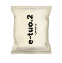 100 CAPSULE POP CAFFE E-TUO.2 COMPATIBILI FIORFIORE COOP E LUI MISCELA CREMOSO