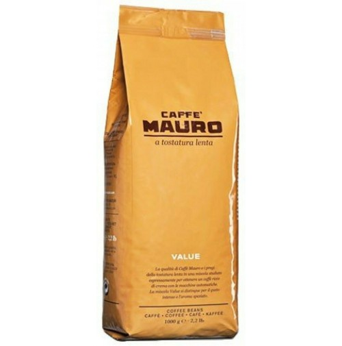 12 KG CAFFÈ MAURO MISCELA VALUE GRANI IN BUSTA SOTTOVUOTO DA 1 KG VENDING