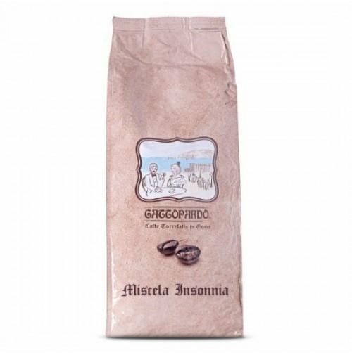 12 KG CAFFE' GATTOPARDO TO.DA. CAFFÈ GRANI IN BUSTA SOTTOVUOTO DA 1 KG INSONNIA