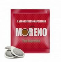 150 CIALDE IN CARTA COMPOSTABILE CAFFÈ MORENO ESE 44MM MISCELA TOP ESPRESSO