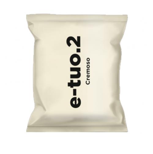 300 CAPSULE POP CAFFE E-TUO.2 COMPATIBILI FIORFIORE COOP E LUI MISCELA CREMOSO