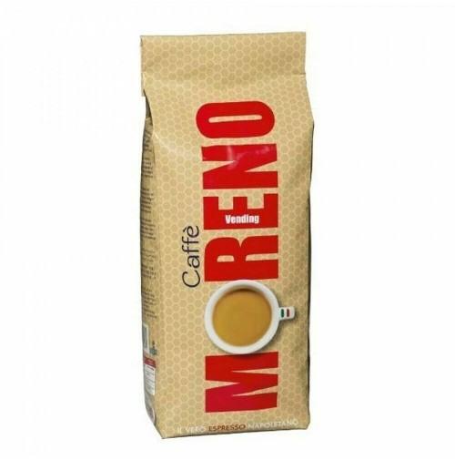 5 KG CAFFÈ MORENO MISCELA VENDING GRANI IN BUSTA SOTTOVUOTO DA 1 KG