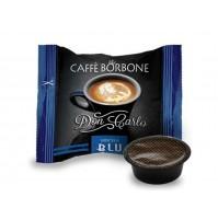 50 CAPSULE DON CARLO CAFFE BORBONE COMP. LAVAZZA A MODO MIO BLU (0,200€/Pz)