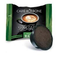 50 CAPSULE DON CARLO CAFFE BORBONE COMP. LAVAZZA A MODO MIO DEK (0,240€/Pz)
