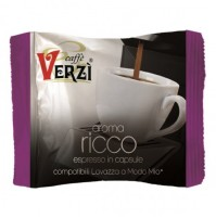 100 CAPSULE CAFFÈ VERZI COMPATIBILI LAVAZZA A MODO MIO MISCELA AROMA RICCO