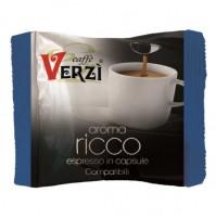 100 CAPSULE CAFFÈ VERZI COMPATIBILI LAVAZZA FIRMA MISCELA AROMA RICCO