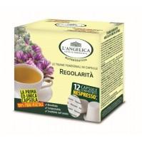 L'ANGELICA - TISANA REGOLARITA' VEG (COMP SISTEMA NESPRESSO)